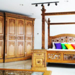 Ravana Four Poster Bed King Size