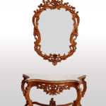 Deluxe Console Table with Mirror