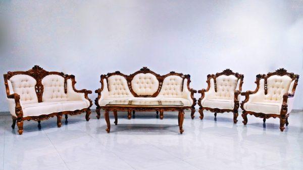 Freedom Rose Antique Teak sofa set Sri Lanka