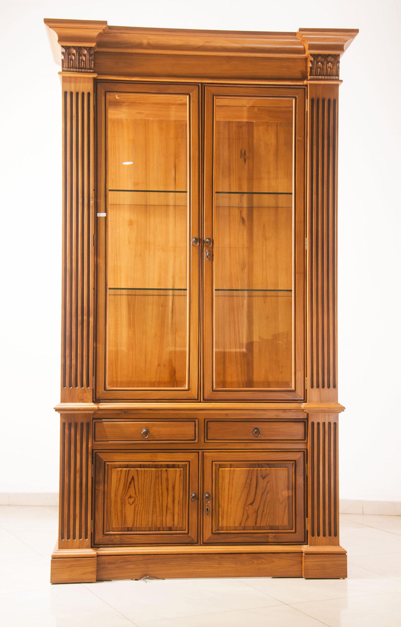Modern display cabinet two door