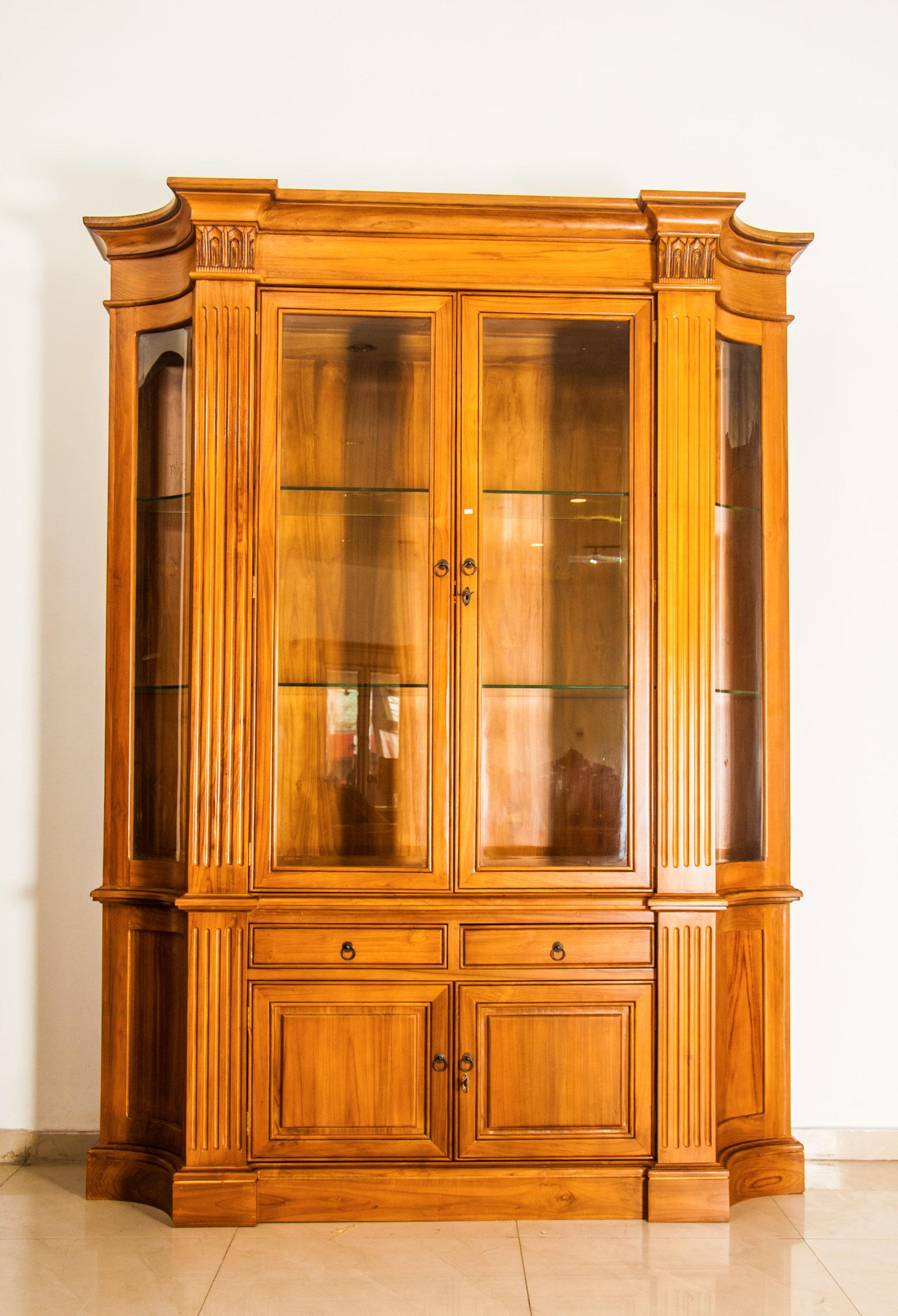 Modern 2 Door Display Cabinet