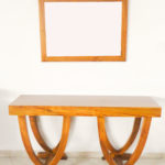 Modern Console Table with Mirror
