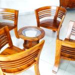 Beauty Wooden Terrace Set