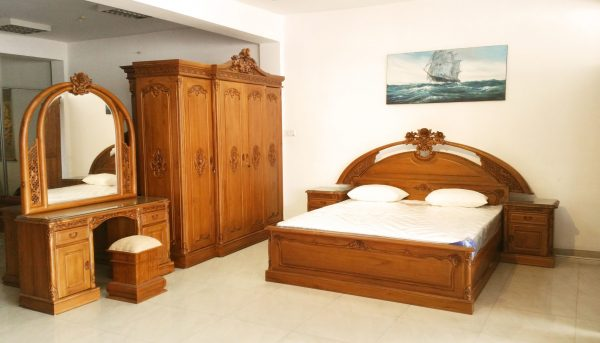 Rose Teak bedroom furniture