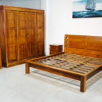 Kotak Modern King size bedroom set