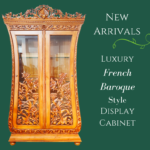 Biola French Display Cabinet (baroque style)